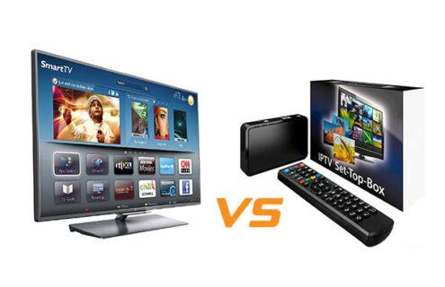 mart TV Versus Set-Top Box